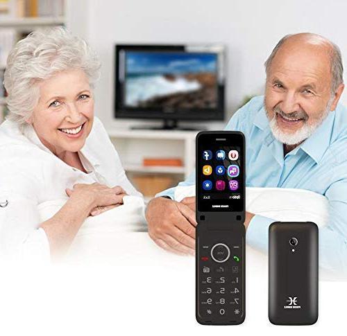 Factory Unlocked Dual 3-G Flip GSM ATT H2O etc FM Radio Key Mobile 2-G 3-G Quad