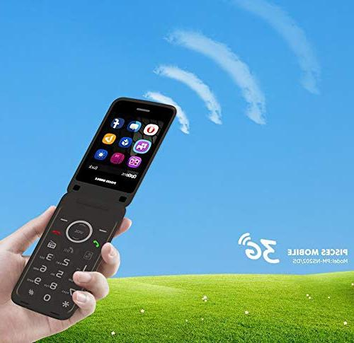 3-G Flip ATT T-Mobile FM Radio Key Mobile 2-G 3-G GPRS Quad Core 850/900/1800/1900MHZ
