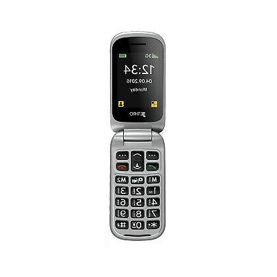 JETHRO UNLOCKED FLIP PHONE WITH FREE PLAN AND SC330v3