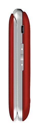 Jethro 3G Unlocked Flip Senior Cell FCC/IC Certified, SOS Large Keypad.