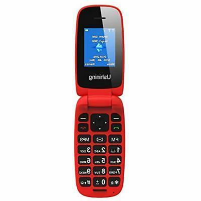 ushining carrier cell phones unlocked flip