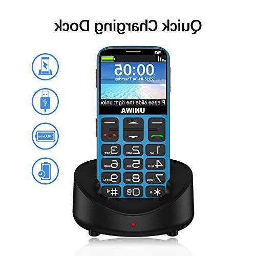 Mosthink Unlocked Cell Phones for Seniors, SOS Senior
