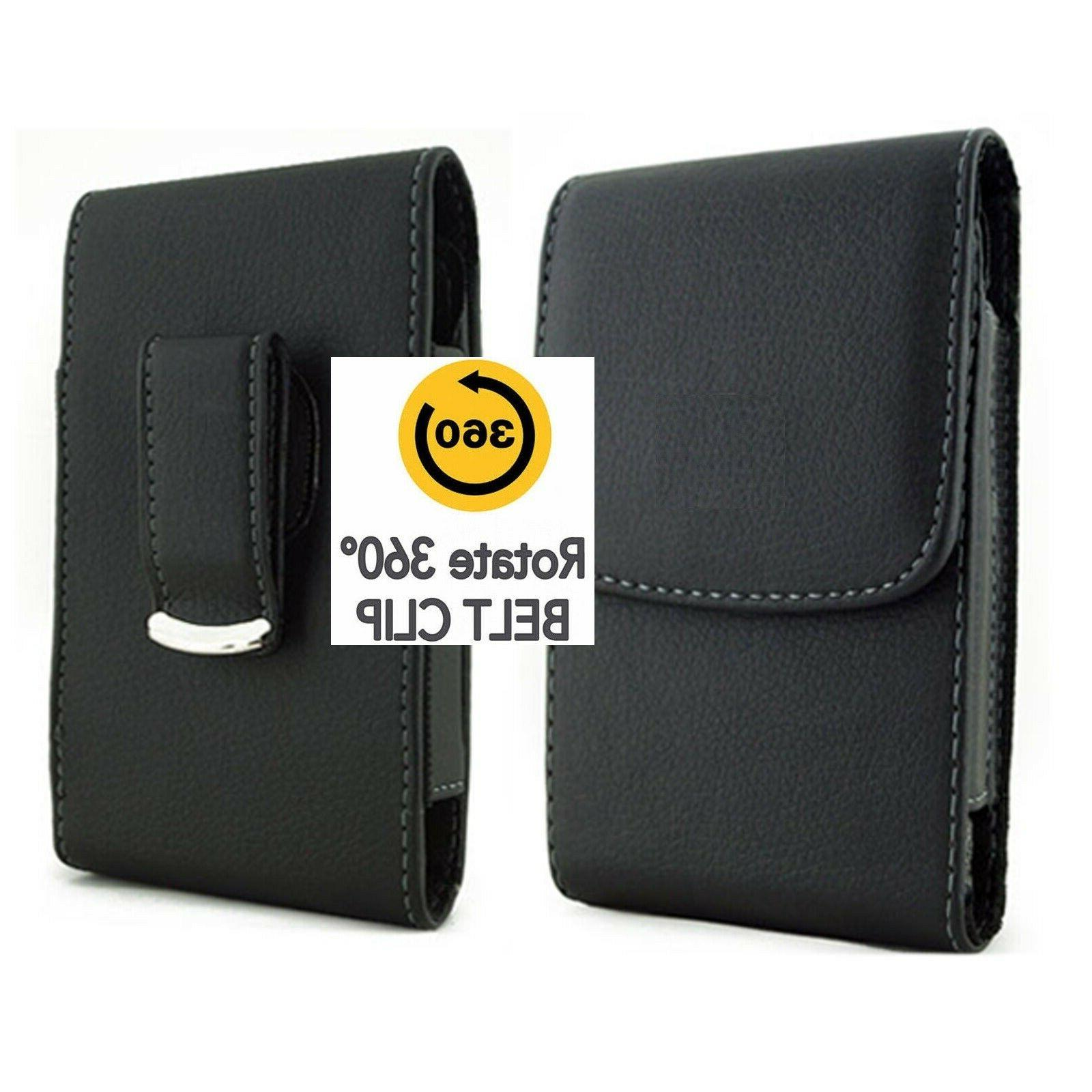 vertica leather case with belt clip