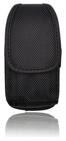 AccessoryHappy Vertical Canvas FLIP Phone Pouch Holster Nylo