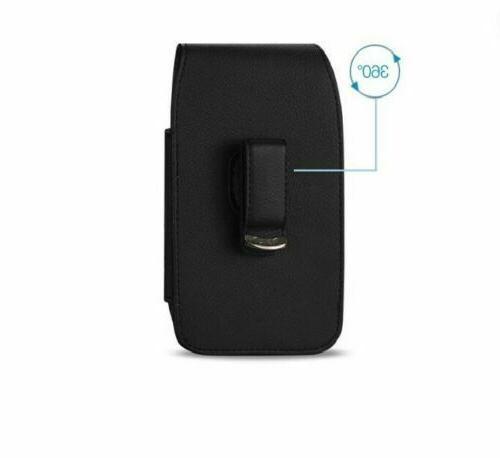 Vertical Leather Case Holder