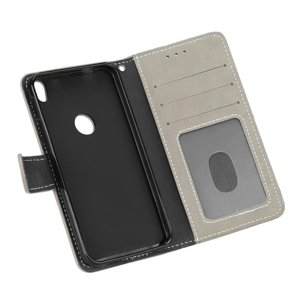 Wallet Case <font><b>Alcatel</b></font> <font><b>Phone</b></font> Leather <font><b>Alcatel</b></font> Shine Lite <font><b>Touch</b></font> Lite 5080X Shell