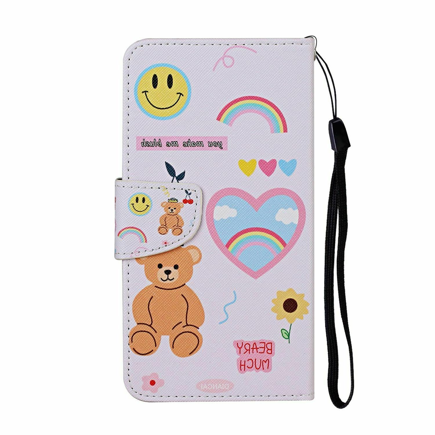 For Xiaomi 9 8 Case Wallet Flip Card Stand Phone
