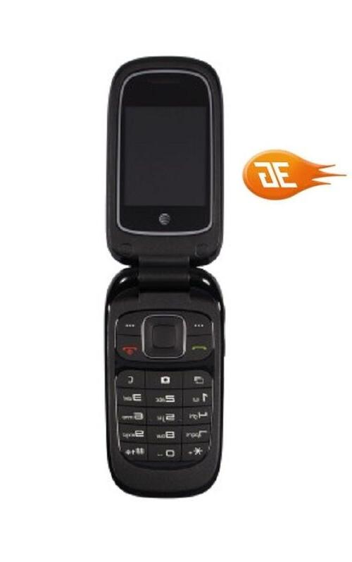 New Z223 AT&T Cellular 3G Flip Phone
