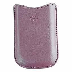 BlackBerry Leather Sleeve Case for BlackBerry Pearl Flip 822