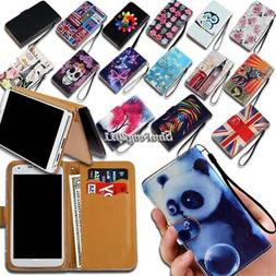 Leather Wallet Stand Magnetic Flip Case Cover For Pantech Ve