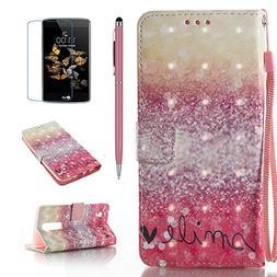 LG Escape 3 Case, LG Phoenix 2 Case, LG K8 Case, Everun  Fli