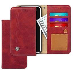 LG K8 , Escape 3, Phoenix 2 Case  Trim LINE Flip Diary Cover