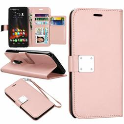 For LG Stylo 4 Phone Case Leather Wallet Flip Card Stand Pro