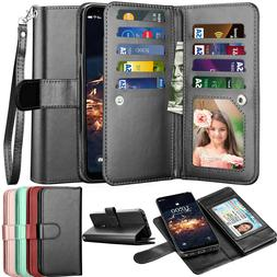 For LG Stylo 4/5X/Stylo 6 Wallet Leather Phone Case Flip Hol