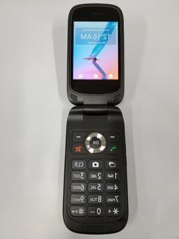 ZTE Link Flip Phone Gray 4G GSM UNLOCKED VoLTE Generic OEM