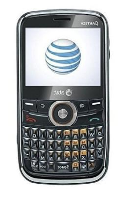 Pantech Link P7040 - Black Orange  Cellular Phone