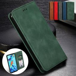 Luxury PU Leather Case For Huawei P30 Pro P30 Lite Flip Wall