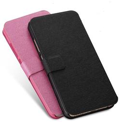 Luxury PU Leather <font><b>Flip</b></font> Case Cover for <f