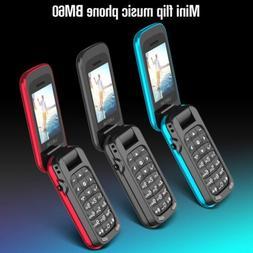 Mini Cell Phone Ushining Unlocked Flip For Seniors Easy-to-U