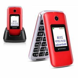 Mobile Phone 3G Flip Touch Screen Dual SIM 1200mAh Unlocked