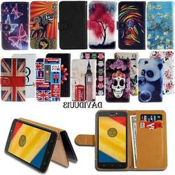 For Motorola One/P30/Moto Z3 E5 Phones Leather Wallet Card S