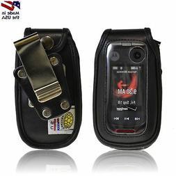Motorola V860 Barrage Turtleback Heavy Duty Leather Phone Ca
