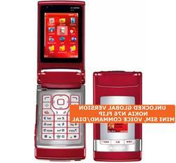 NOKIA N76 FLIP Mini Sim 2.0mp Camera Voice Command Symbian O