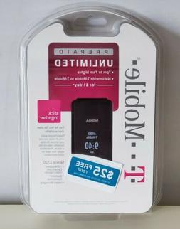 NEW Nokia 2720 Black T-Mobile Flip Cellular Phone Sealed!!!