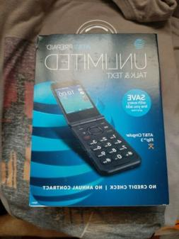 NEW AT&T Prepaid Cingular Flip 3 WiFi 4GB HD Voice Q28A Flip