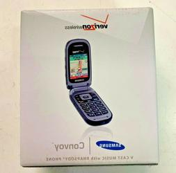 **NEW Samsung Convoy SCH-U640 Gray Rugged  Flip Cellular Pho