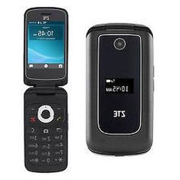 NEW ZTE Cymbal Z320  Dark Gray 4G LTE GSM Cell Flip Phone