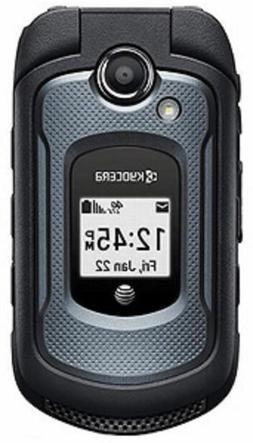 New Kyocera DuraXE E4710 8GB - Black  4G LTE Rugged Flip Pho