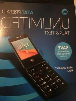 New Alcatel Flip 2 AT&T Unlocked 4G GSM LTE WiFi Flip Phone