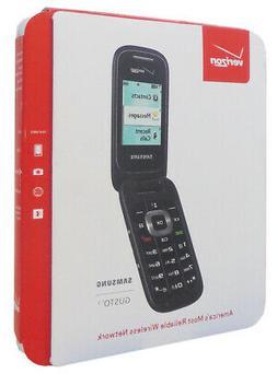 NEW Samsung Gusto 3 SM-B311ZKA Blue Verizon Cellular Flip Ph
