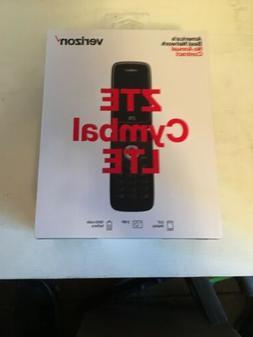 NEW SEALED BOX Verizon Prepaid ZTE Cymbal LTE - HD VOICE/VoL