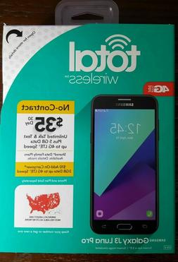 TOTAL WIRELESS SAMSUNG GALAXY J3 LUNA PRO 4G LTE 16GB Prepa