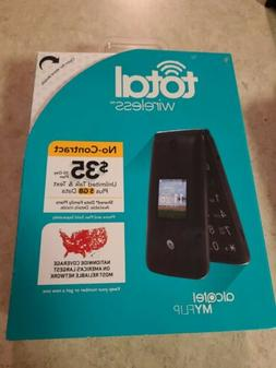 NEW Total Wireless Alcatel My Flip MyFlip A405 Prepaid Basic