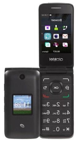 New Tracfone Safelink Alcatel WiFi MyFlip 4G Prepaid Flip Ph