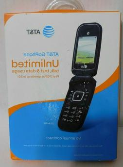 New Unlocked  AT&T LG B470 3G GSM  Basic Black Flip Cell Pho