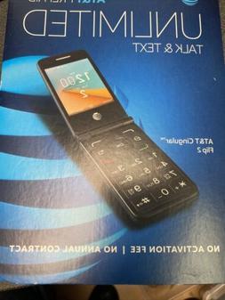 New UNLOCKED  Alcatel Cingular Flip 2 OT-4044O AT&T 4G lte W