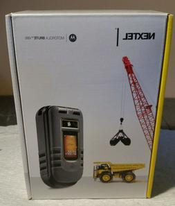 NIB MOTOROLA I680 BRUTE NEXTEL FLIP PHONE CELL CELLULAR CLEA