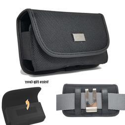 Nylon Belt Pouch Carrying Case Clip Holster for Doro 7050,Do