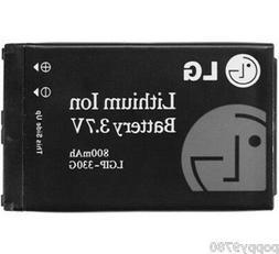 LG Original LGIP-330G 800mAh Li-Polymer Cell Phone Battery F