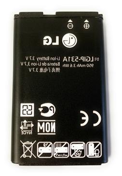 Original OEM Replacement battery for flip phones LG B470 AT&
