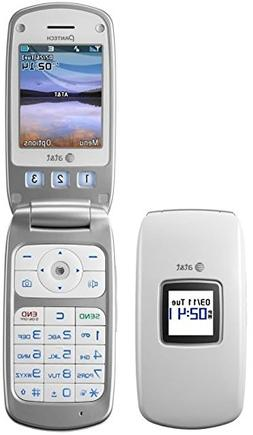 Pantech Breeze C520 - White  Cellular Phone