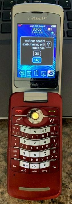 BlackBerry Pearl 8220 - Red  Smartphone - Used - Works