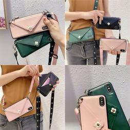 Phone Case Cover Flower Envelope Car Holder With Strap TPU F