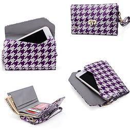 Phone case wristlet keeps essentials organized  Universal fi