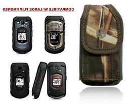 Premium Vertical Flip Phone Case DURA XV Camo , Insulin Pump