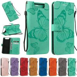 PU Leather Case Flip Wallet Phone Cover For Samsung Galaxy A